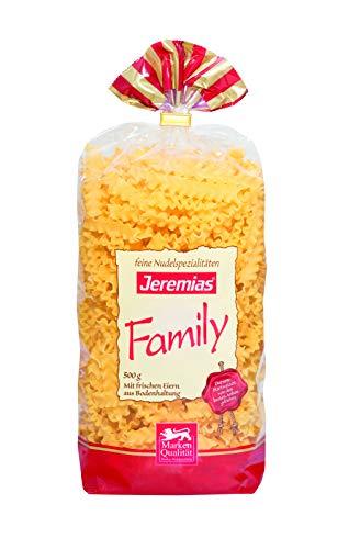 Jeremias Wellenband, Family Frischei-Nudeln (500 g Beutel)
