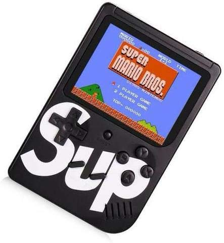 Mini Game Portátil SUP 400 jogos com Controle