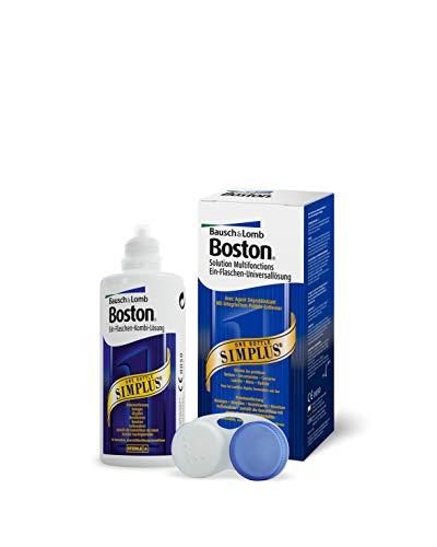 Bausch und Lomb Kontaktlinsenflüssigkeit - Boston Simplus Kontaktlinsenreiniger für harte Kontaktlinsen 1 x 120 ml
