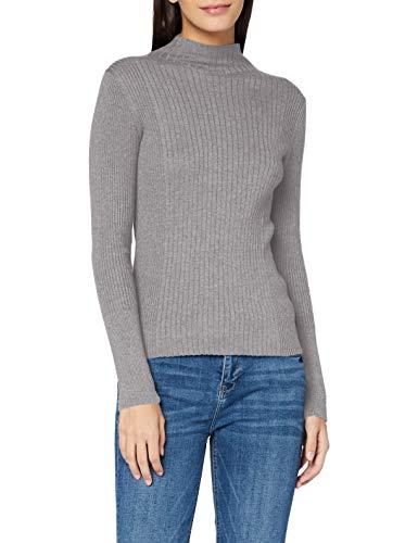 ESPRIT Damen 100EE1I303 Pullover, Medium Grey (039), M