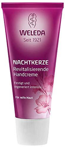 WELEDA Nachtkerze Revitalisierende Handcreme, intensive Naturkosmetik Feuchtigkeitspflege für die Regeneration von sehr trockenen Händen, Handpflege und Pflegecreme für die Haut (1 x 50 ml)