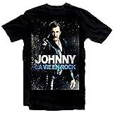 Photo de Free Johnny Hallyday Star Homme Noir Mens T- Shirt Unisex XS-4XL