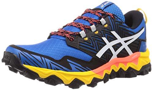 Asics Gel-Fujitrabuco 8, Sneaker Mens, Directoire Blue/White, 42.5 EU