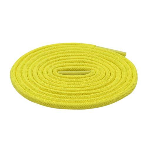 WTMLK Cordones deportivos clásicos, 0,3 cm de diámetro, redondos, de cera, para mujeres, hombres y niños, personalizados, longitud de color, color, talla 140