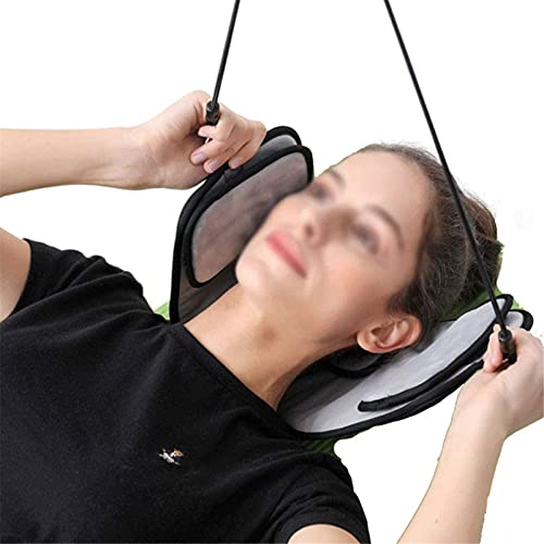 Portable Hammock Fashion Portable Neck Pain Relief Relaxing Hammock Neck Massager Foam Napping Sleeping Pillow Cushion for Home Office Travel