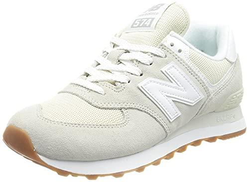 New Balance 574 Pastel Pack, Zapatillas Mujer, Silver Birch, 35 EU