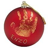 Baby Art My Christmas Fairy, Handprint Christmas Decoration Kit, 0+months, 10 cm (dia.), Red