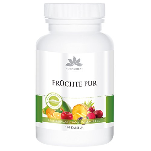 Vrouwde capsules met Spirulina - fruit - 120 capsules