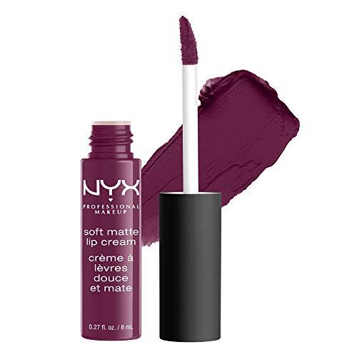 NYX Professional Makeup Soft Matte Lip Cream, Cremiges und mattes Finish, Hochpigmentiert, Langanhaltend, Vegane Formel, Farbton: Transylvania