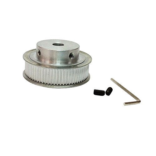BEMONOC HTD 3M Motor Pulleys 56 Teeth Aluminium Wheel 8mm Bore 3mm Pitch 3D Printer Accessories