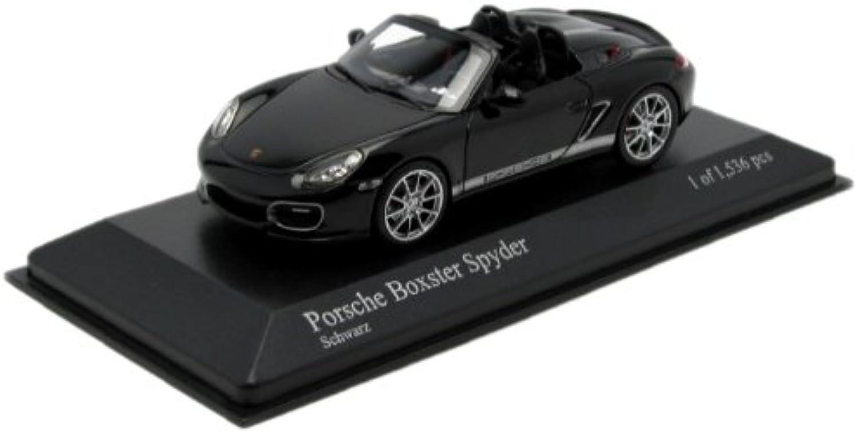 Minichamps – 400069300 – Fahrzeug Miniatur – Porsche Boxster Spyder 2010 – Maßstab 1 43 B005VQA936 Spielzeugwelt, fröhlicher Ozean    Stil