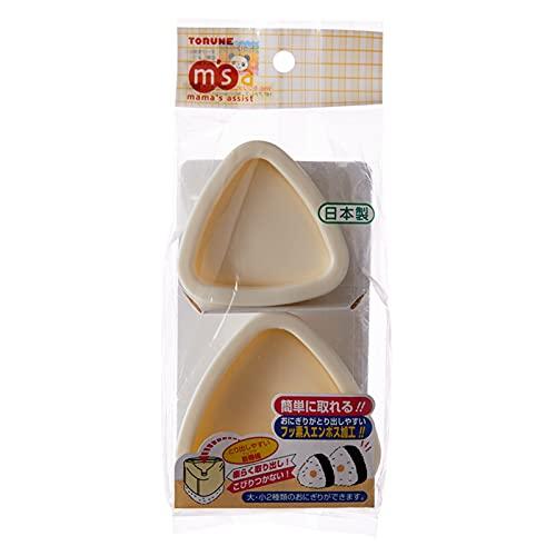 WLKH Japón importado 2 unidades/1 juego de moldes de sushi Onigiri bola de arroz Bento Press Maker molde herramientas DIY accesorios de cocina (color: M Plus S)
