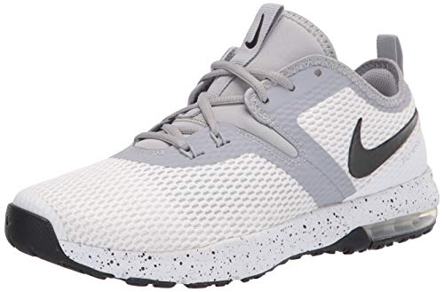 Nike Men's Competition Running Shoes, White White Black Wolf Grey 100, Womens 12