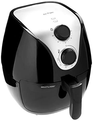 Fritadeira Elétrica Air Fry Gourmet 220V com 1500W Capacidade de 4 Litros Preta Multilaser - CE022