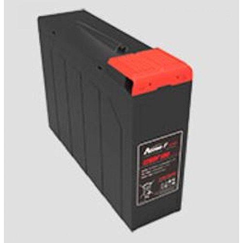 Q-Batteries by Narada 12NDF50 / 12V 50 Ah Frontterminal Blei Akku / Blei-Vlies-Akku VRLA inkl. Entgasungskit