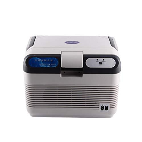 Koelbox, compressor, koelbox, vriesbox, met 12/24/220 volt aansluiting voor auto en vrachtwagen, capaciteit -12 l