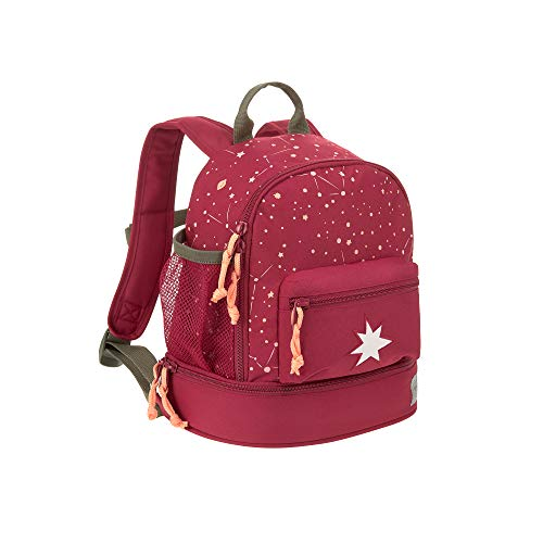 LÄSSIG Kinderrucksack Kindergartentasche mit Brustgurt ab 3 Jahre/Mini Backpack Magic Bliss Girls, 27 cm, 5 L