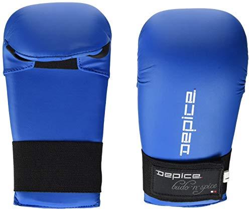 DEPICE Schutzausrüstung Karate-Faustschutz, Blau, M, sa-kd