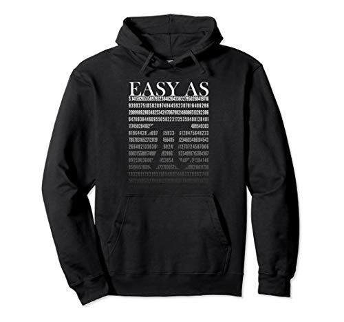 Easy As 3.141592 Pi Tag | Mathe Nerd Geschenk Pullover Hoodie