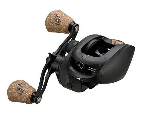 13 FISHING - Concept A2 - Carrete de pesca de bajo perfil Baitcast - Relación de engranajes 6.8:1 - Recuperación de mano derecha (fresco+sal) - A2-6.8-RH