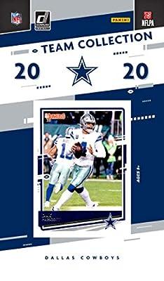 2020 Panini Football Dallas Cowboys Team Set 17 Cards W/Drafted Rookies Dak Prescott Elliott