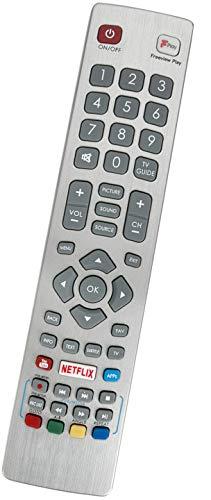 ALLIMITY SHW-RMC-0121 Afstandsbediening Vervangen voor Sharp Aquos Smart TV LC-40FG5151KF LC-49CFG6002KF LC-40FG5152KF LC-43CFG6001KF LC-40CFG6001KF LC-40FG5142KF