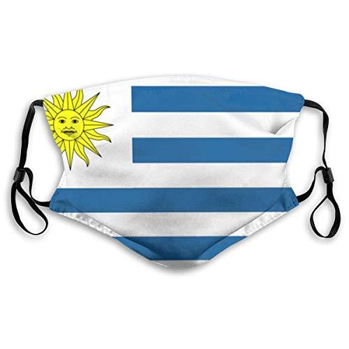 Bandera de Uruguay Balaclava Unisex Face Cubie-rta Bandanas