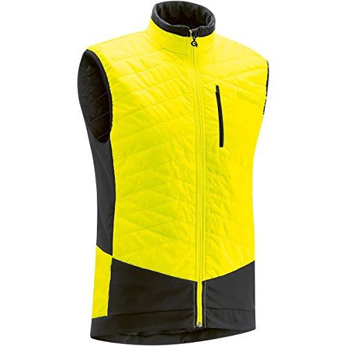 Gonso M Glandon Gelb, Herren Primaloft Winddichte Weste, Größe XL - Farbe Safety Yellow