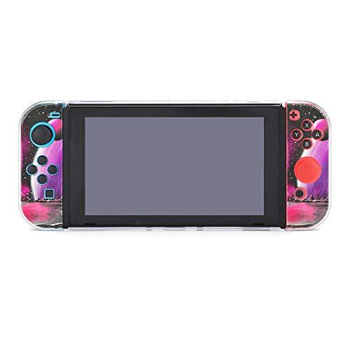 Colorido cráneo celebrando Halloween Funda protectora compatible con Nintendo Switch Soft Slim...