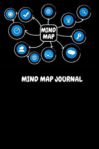 [画像:Mind Map Journal: Visual Thinking Notebook for Mind Mapping, Brainstorming]