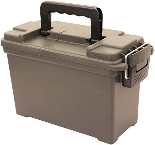AB Robuste Munitions- und Werkzeugkiste aus Kunststoff (Oliv/Kaliber 30)