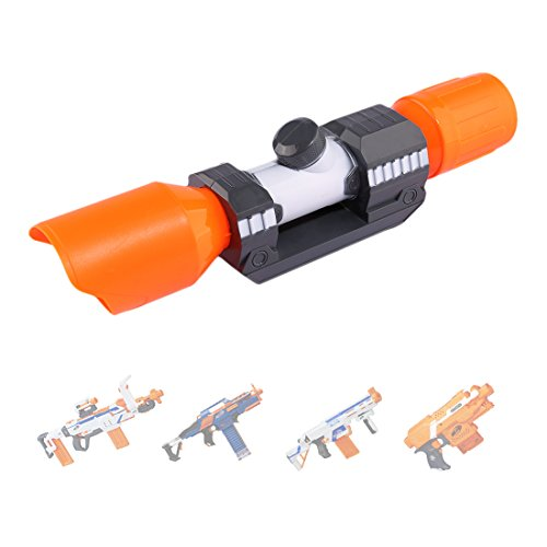 FutureShapers Targeting Scope Visier Fernrohr Zielfernrohr für Nerf Disruptor, Nerf Stryfe, Nerf Retaliator, Nerf Rapidstrike, Nerf Modulus Regulator
