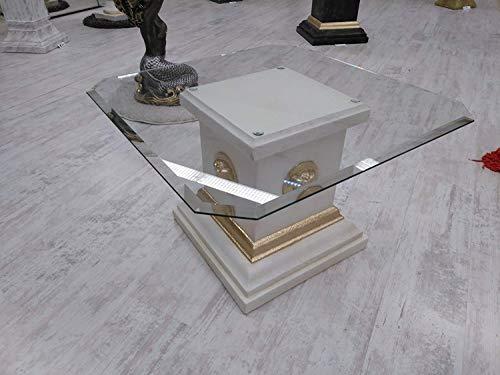 Medusa mesa baja mesa M?Andre–Bandeja de cristal mesa de cristal mesa de centro Mesa pintado...
