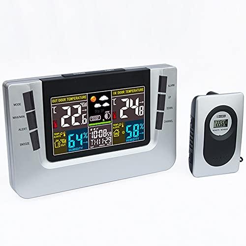 estación meteorológica con sensor inalámbrico de la marca EastMetal