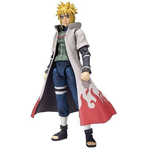 YIGEYI Naruto Anime Figura Namikaze Minato Action Figura 7.87 Pulgadas Figuras de PVC Figuras Coleccionables Modelo de Personaje Estatua Juguete