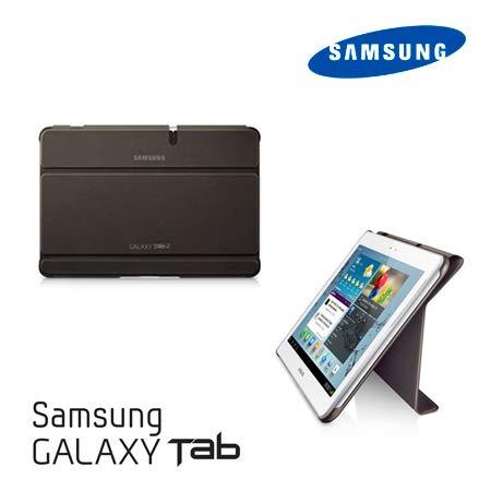 Samsung Portfolio FOR Samsung TAB2 EFC-1H8SAECSTD 10.1 Marrón funda para tablet