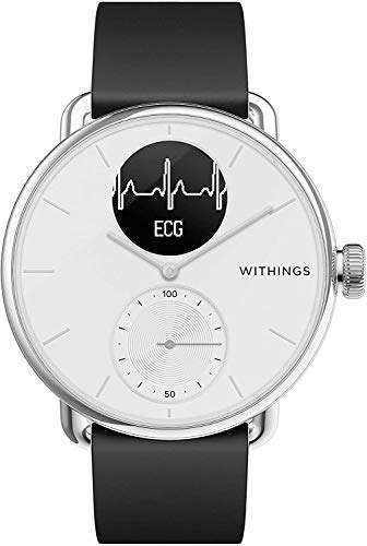 1. Withings ScanWatch - Reloj inteligente híbrido