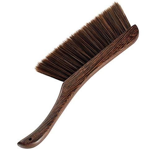 Generic Branded Aztnrwen Cepillo De Limpieza Suave Duster Hair Drafting Brush con Microfibra para Teclado, Hogar, Hotel, Cama, Coche, Ropa Suave