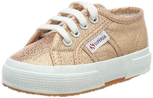 SUPERGA 2750-LAMEJ, Sneaker Bambina, Rosa (Rose Gold 916), 32 EU