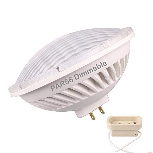 BAOMING Variateur d'intensité PAR56 LED Ampoule 26 W 24 ° Angle de faisceau AC 200 ~ 240 V avec Gx16d Mogul Extrémité Attaches Base pour halogène 300W Replacement-warm Blanc 2700K~3000K