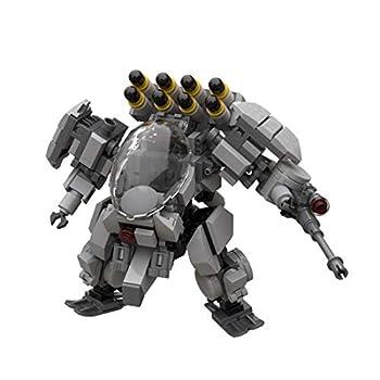 FenglinTech Mecha Frame 288 PCS Mecha Model Kits Air Defense Soldier Model Mecha Action Figure Building Toy