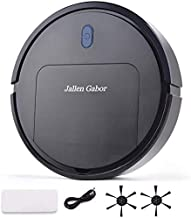 Robot Vacuum Cleaner, Home Sweeping and Towing Machine,Robotic Vacuum for Cleaning,Low noise sweeper,1600Pa Power Suction,...