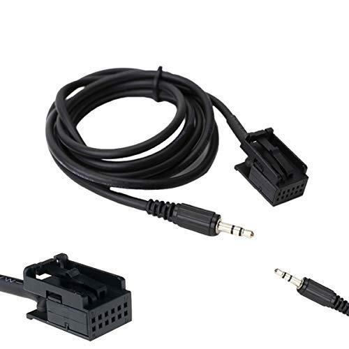 Daniko CD30 CDC40 Câble auxiliaire pour Opel Astra Corsa 3,5 mm 1,5 m