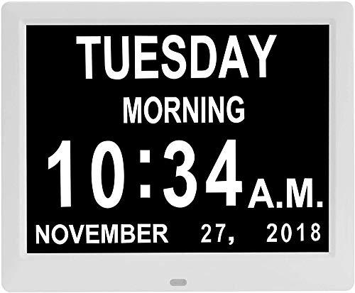DAPENF digitale kalender, dagklok, 10