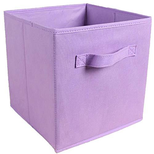 Scatola portaoggetti pieghevole in tessuto non tessuto cubo Scatola portaoggetti pieghevole in tessuto Cesto portaoggetti a cubo Giocattoli Organizer Contenitori Cassetti