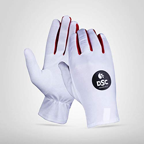DSC Glider Cricket Batting Inner Gloves, Men s , LH