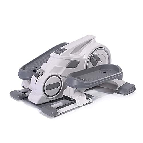 Lixiabeidai Ejercitador de Pedales,Máquina de Pedales Equipo de Gimnasia Ciclo Debajo del Escritorio para Ejercicios de piernas y Brazos con Pantalla LCD,White