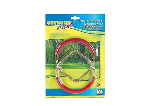 Outdoor active Turnringe Kunststoff/Metall, 2 Stück
