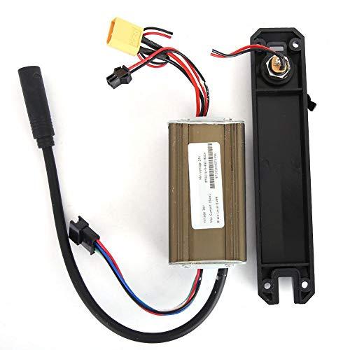 T best Panel de Control de 36V con Tapa de Conector de Carga para Accesorios de Scooter eléctrico KUGOO de 8 Pulgadas