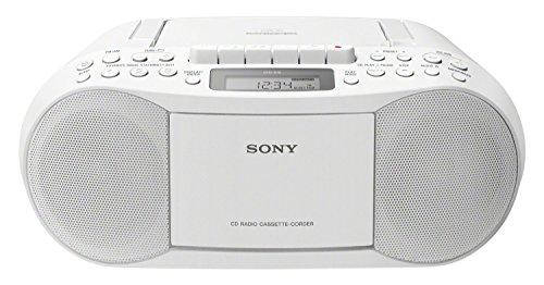 Sony Lecteur CD/Cassette/Radio Portable Blanc